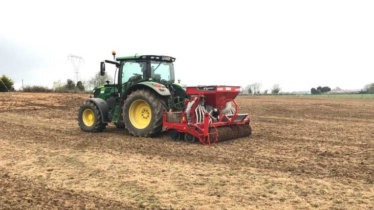 Corn Sowing Drilling