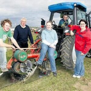 Group at ploughing