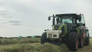 Baling Haylage 2021